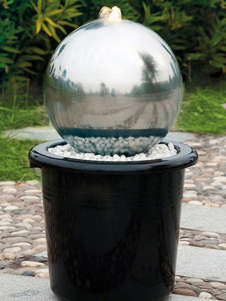 Brunnen mit Edelstahlkugel, WaterBall 300 von FIAP (Art.Nr. FI2603)