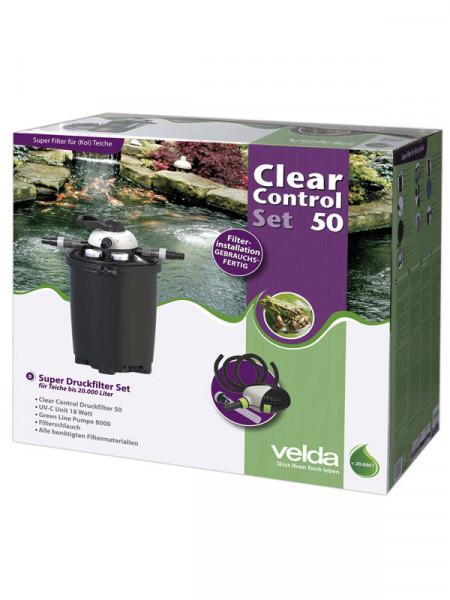 Clear Control 50 Set - Druckfilter-Set von Velda (Art.Nr.126331)