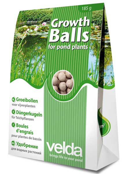 Düngerkugeln Growth Balls von Velda (Art.Nr. Vel122250)