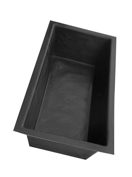 GFK-Becken eckig E200T - XXL-Produkt