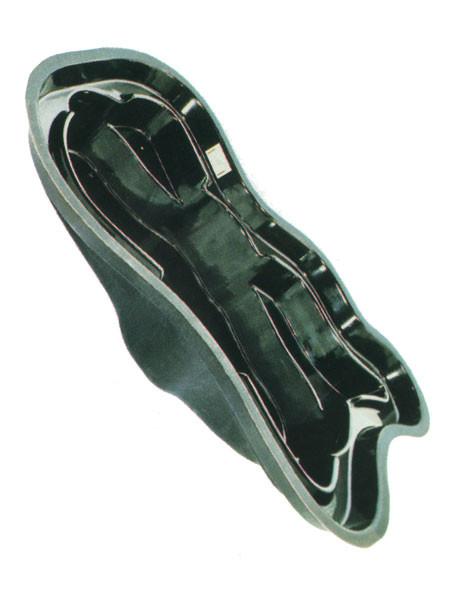 Teichbecken 1831 Bio (GFK) - XXL-Produkt