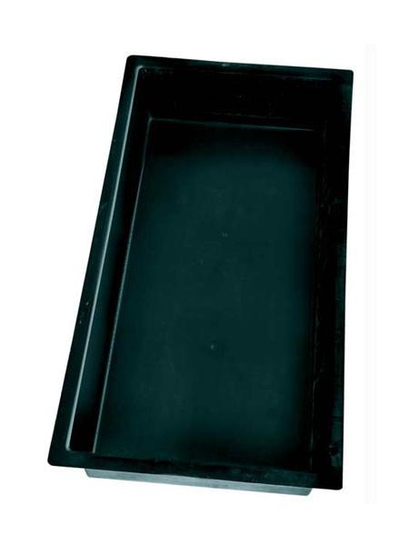 GFK-Becken eckig E200 - XXL-Produkt (Art.Nr.15038)