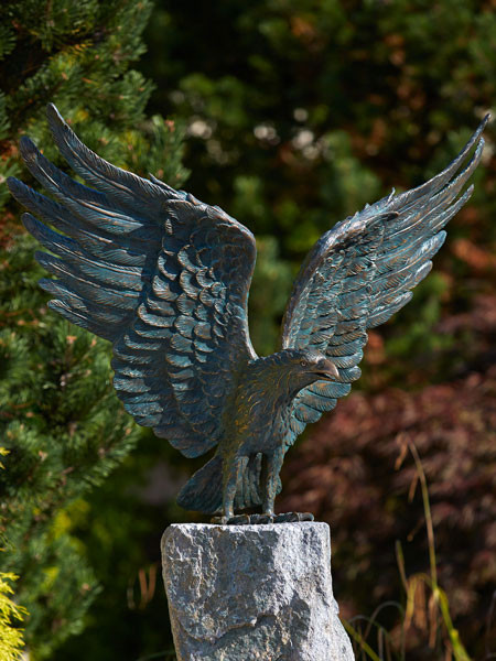 Bronzefigur Weißkopf-Seeadler (Art.Nr. 88859)