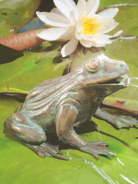 Bronzefigur Frosch (Artikel Nr. 90110)