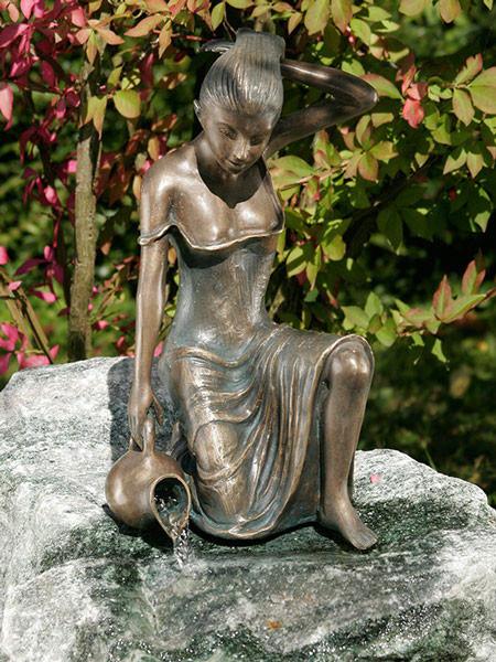 Bronzefigur Letizia klein (Art.Nr. 88491)