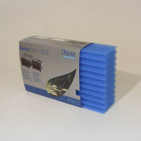 ersatzfilterschwamm blau f r biotec 5 1 und 10 1 der. Black Bedroom Furniture Sets. Home Design Ideas