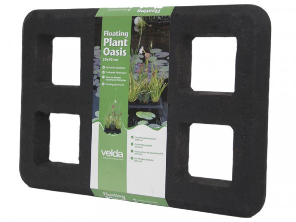 Floating Plant Oasis in der Verpackung