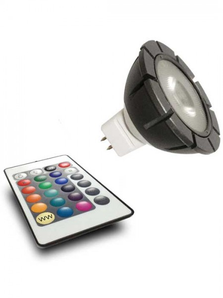 MR16 RGB Power-LED mit Fernbedienung (Art.Nr. 6190011)