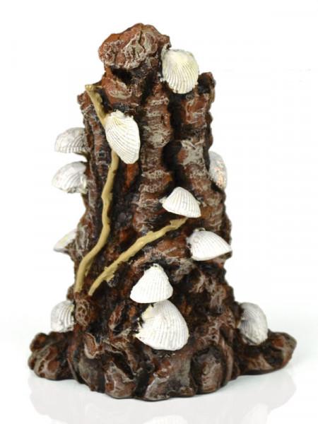 biOrb Muschelbaumstumpf-Ornament weiß