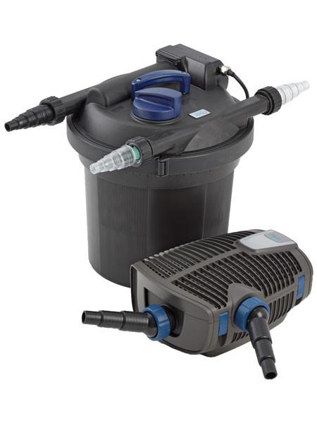 FiltoClear 6000 Set Druckfilter-Komplettsystem mit Reinigungsfunktion von OASE (Art.Nr.50867)