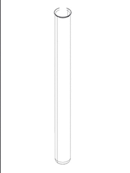 Ersatz-Quarzglasrohr D44 x 285,5 von OASE (Art.Nr. 27579)