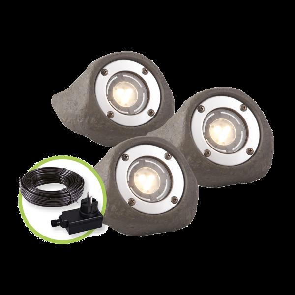 Spotstrahler Komplettset 'Lapis LED' von Garden-Lights (Art.Nr. 3577443)