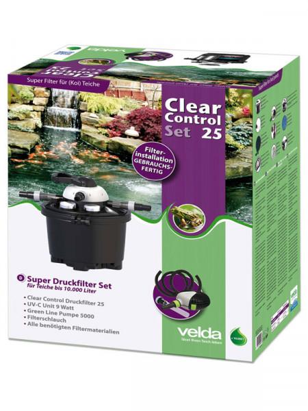 Clear Control 25 Set - Druckfilter-Set von Velda (Art.Nr.126311)