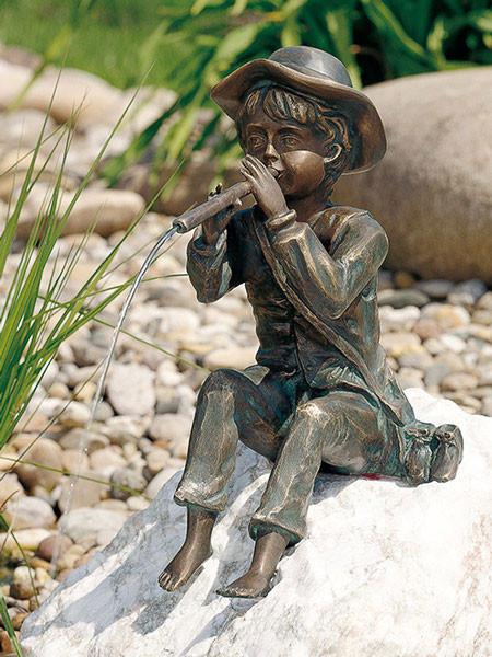 Bronzefigur Toni groß (Art.Nr. 88377)