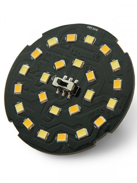 SMD LED Unit 12x Weiss/Warm Weiss 2W (Art.Nr. 6244011)