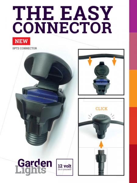 Flex Konnektor SPT-2 Female von Garden-Lights(Art.Nr. 6261011)