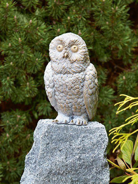 Bronzefigur Baby Schnee-Eule (Art.Nr. 88747)