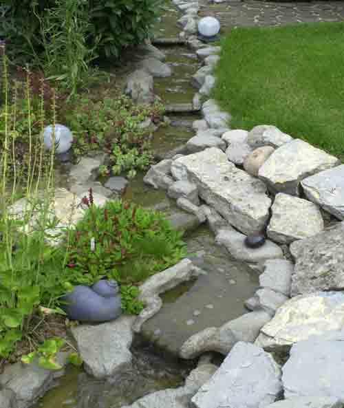 Bachlauf für den Gartenteich | der-Gartenteich