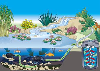 Teichfilter-Systeme